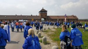 Image of March to Birkenau