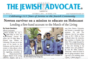 Newton survivor on a mission to educate on Holocaust