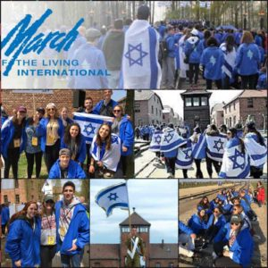 Image of March of the Living New England collage