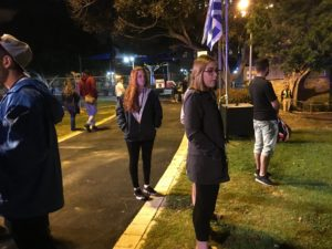 Image of Yom Hazikoron community commemoration in Haifa.