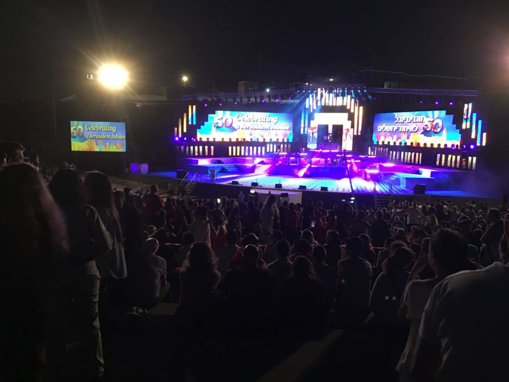 Israel's 69th concert event