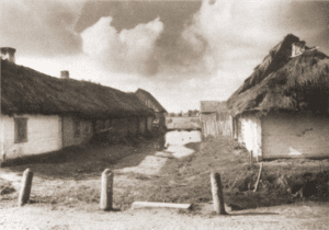 Image of Wysock, a tiny village in Volhynia, 1937.