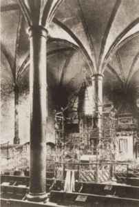 Image of Interior of the Old Synagogue of Kazimierz (Cracow).