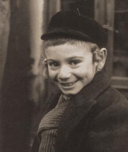 Image of Kheder boy. Warsaw, 1938.