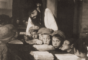 Image of Boys' kheder. Lublin, 1924.