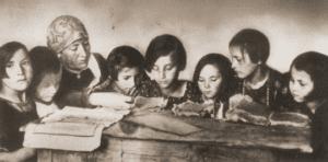 Image of Girls' Kheyder in Laskarzew.
