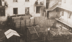 Image of On Sukkot, Jews eat, sleep, and study in temporary dwellings.