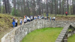 Image of Adult Marchers in Ponari forest Lithuania