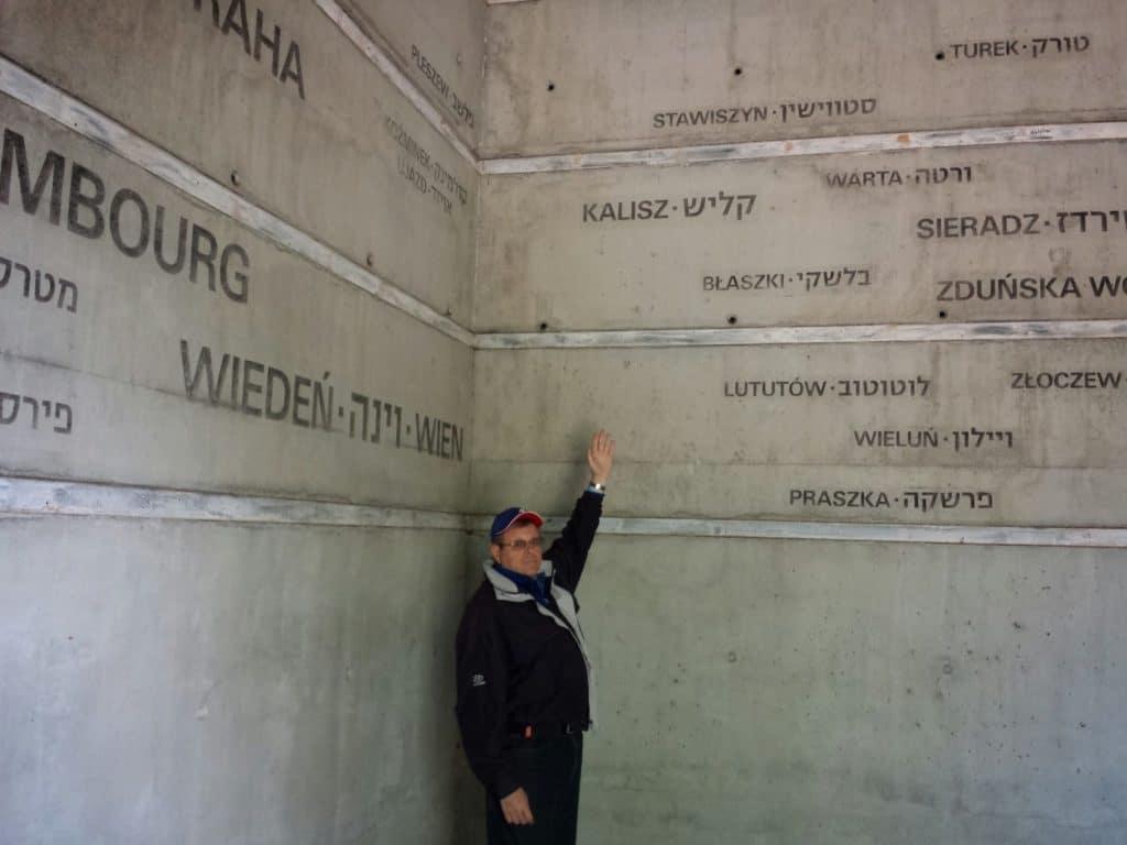Image of Lodz Holocaust memorial