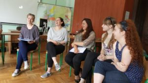 Image of Students at Kalisz school of dialogue