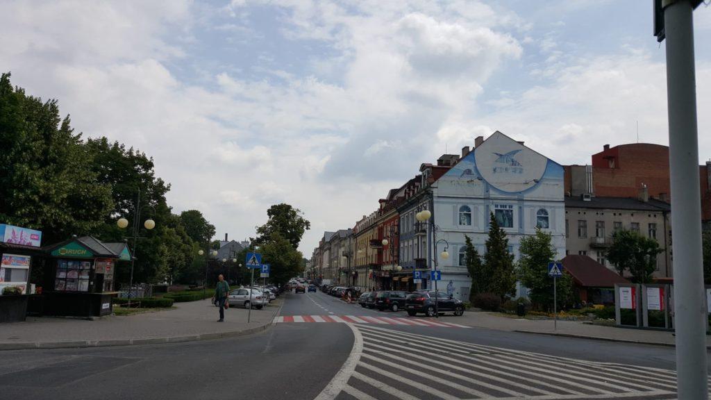 Kalisz streets