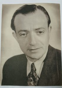Image of Irv's dad's post war picture