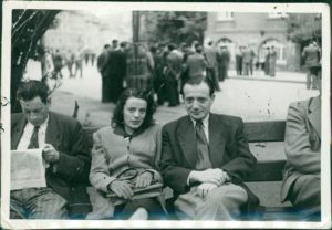 Image of 1946 Picture of Irv's Mom and Dad in Stuttgart Germany