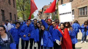 Jewish teens from Morocco on the March of the living