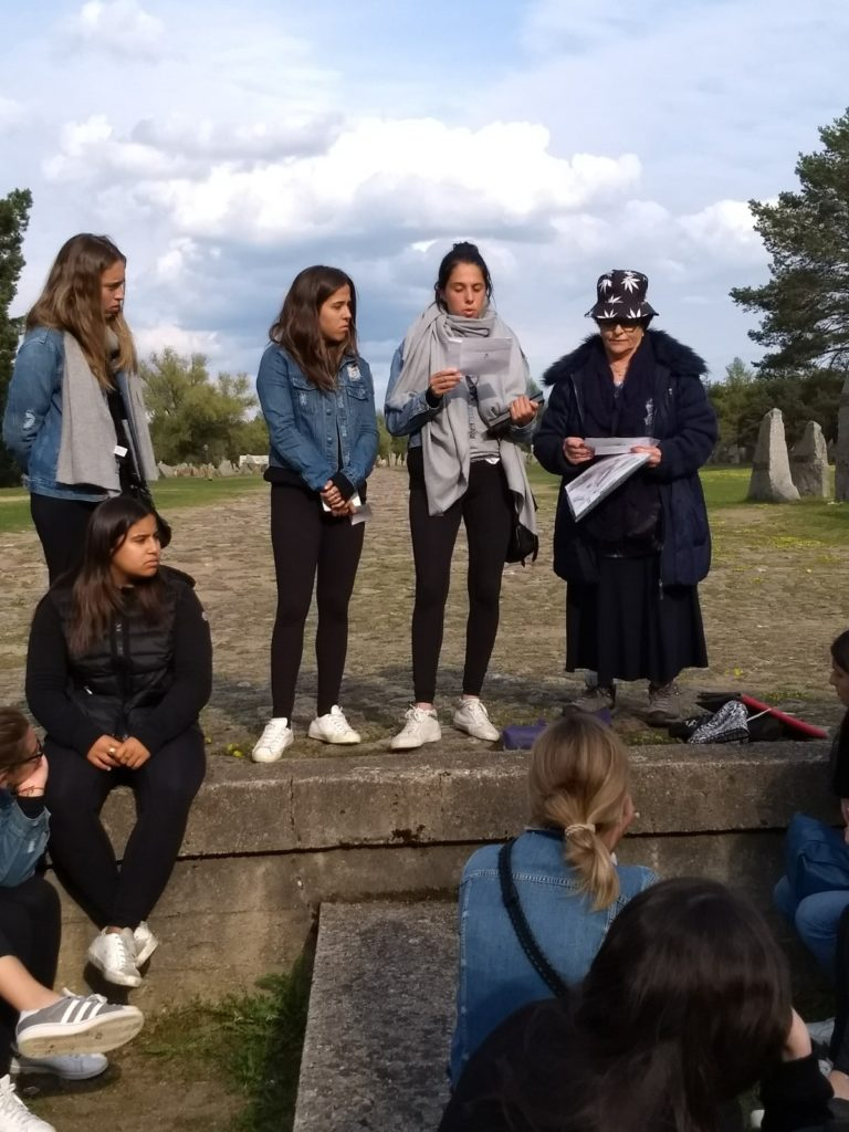 Image of Day 1 of our Poland student mission at the Treblinka death camp.