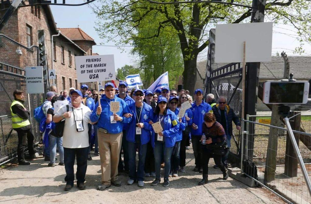 MOTL trip to Auschwitz Birkeneau
