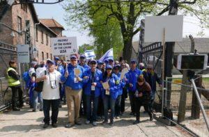 Image of MOTL trip to Auschwitz Birkeneau