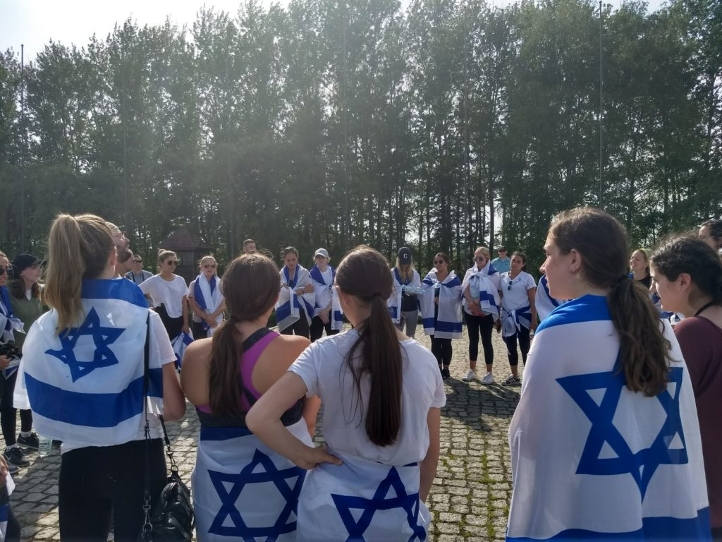 MOTL New England students visit the Auschwitz death camp.
