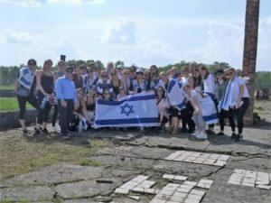 Image of MOTL Students at Auschwitz Birkeneau