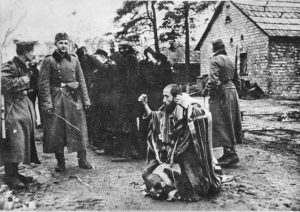 Image of Tycochin, town and burial pits where Jews were shot.