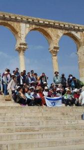Image of MOTL trip to Jerusalem.