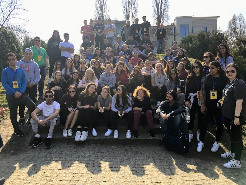 MOTL students visiting Tycochin in April 2018.