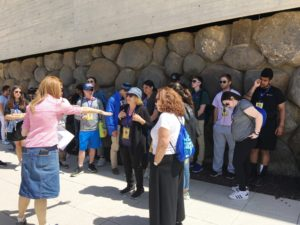 Image of NE MOTL Teens at Yad Vashem Jerusalem