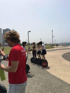 Image of NE MOTL teens in Tel Aviv