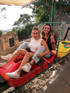 Image of NE MOTL teens in Israel on Independence.