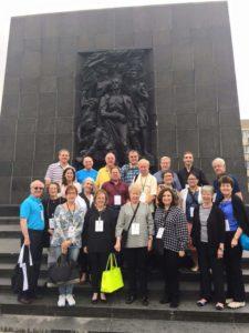 Image of Warsaw Ghetto Uprising memorial