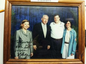 Image of Irv and Mindy meet with Bibi and Sara Netanyahu