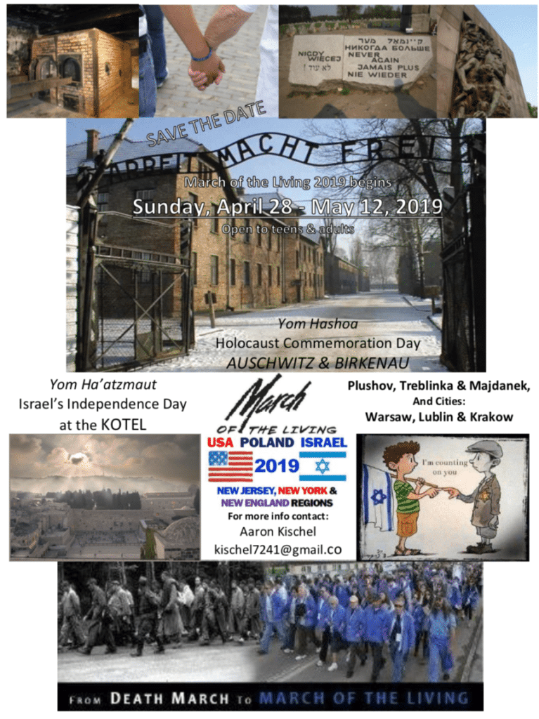 Image of 2019 Teen March Save the Date Flyer
